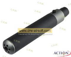 ACTION SP90 MPX Silencer 38x185mm Set for KSC MP9/TP9 (2-Tone)